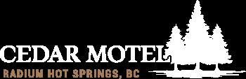 Cedar Motel, Radium Hot Springs, BC