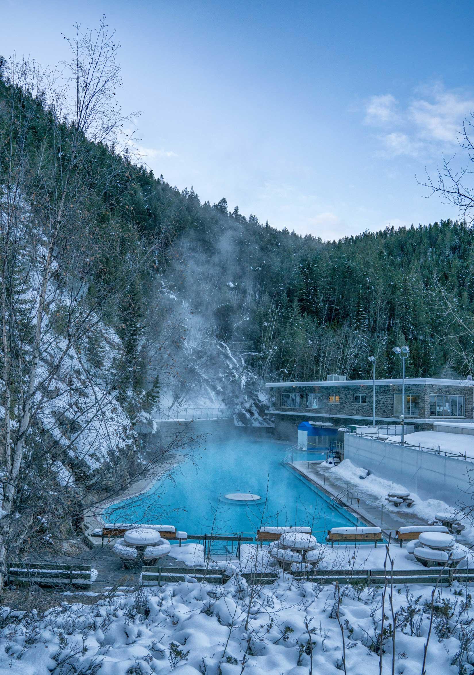 Radium Hot Springs, BC